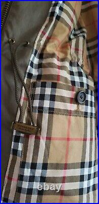 $695 Burberry Women's Portwell Trench Jacket Coat (US 6)