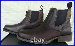 Ariat Mens Midtown Rambler Leather Boots 10019868 Size 8.5 EE Barn Brown $140