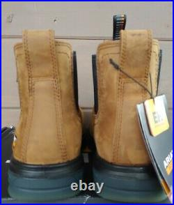 Ariat Turbo Chelsea Carbon Toe Work Boots Size 10 Wide Aged Bark 10027331
