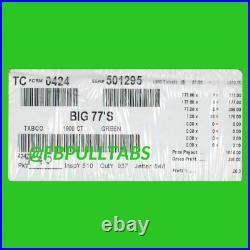 Big 77's 1900 Pull Tabs, $1 Each $386 Profit Fundraiser Free Shipping