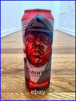 Biggie Smalls Limited Edition Budweiser Tallboy Can