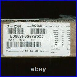 Bonus Hoggywood Squares One Dollar Pull Tab Game 1500 Pull Tabs 300 Profit