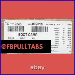 Boot Camp 1860 Pull Tabs, 1 Dollar Each 410 Profit Fundraiser Free Ship