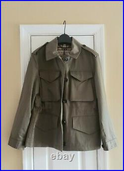 Burberry Women's Portwell Four-Pocket Military Trench Jacket (US 6)