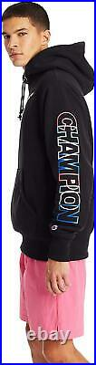 Champion Life Men's Reverse Weave Pull Over Hood Print Active Hoodies Clothings