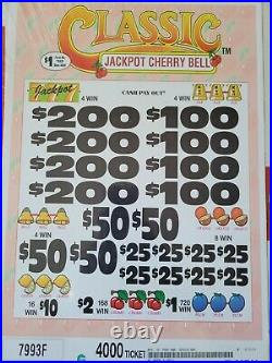 Craft games Jackpot Cherry Bell fundraising pull tabs