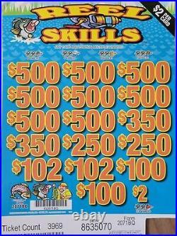 Craft games Reel skills fundraising pull tabs