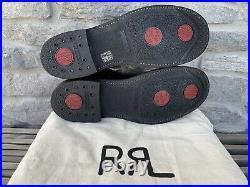 Double RL Ralph Lauren Congress Black Leather Chelsea Boots RRL Mens Size 7 D