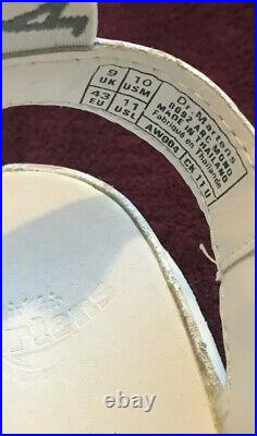 Dr. Martens Arc Mono White Leather Fisherman Sandal 8092 Women's Size 11 Mens 10