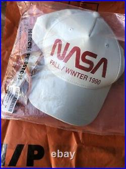 Heron Preston NASA 3M Reflective Baseball Cap With Pull Tab. New With Tags