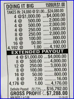 Huge $7228 Profit Free Ups Shipping Pull Tab Tickets Doing It Big