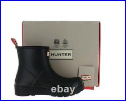 Hunter Women's Original Play Short Waterproof Rain Boots Black Size 10