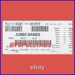 Jumbo Babies 1900 Pull Tabs $1 Each $400 Profit Fundraiser Free Ship