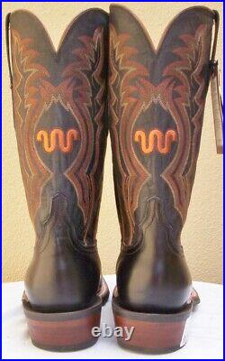 King Ranch Sorrel Cow Horse Boots, for King Ranch Truck Owners, #CZ3507, 11 EE