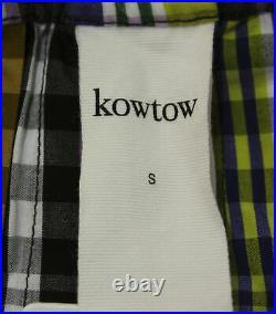 Kowtow Women's Pace Pull-On Organic Cotton Midi Skirt KT4 Multicolor Small NWT