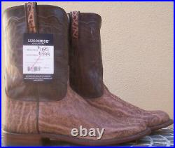 Lucchese Bootmaker, Exotic Leather Skin, Style# GY3013, Size (12 D)