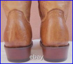 Lucchese Nathan, Smooth Ostrich Cowboy Boots, Style# N1160, Size (10.5 D)