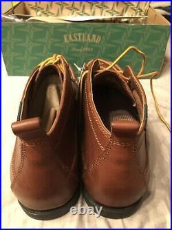 Mens Eastland Seneca Chukka Boot Size 9.5 Brown Memory Foam $120.00