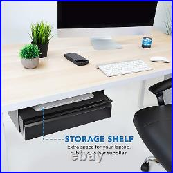 Mount-It! Under Desk Pull-Out Drawer Kit with Laptop and Tablet Shelf Office