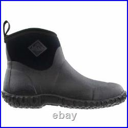 Muck Boot Muckster Ii Ankle Pull On Mens Boots Ankle Black