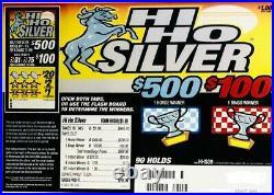 NEW- Pull Tab Ticket HI HO SILVER 945ct $255 PROFIT FREE SHIPPING