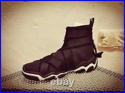 NW Red VALENTINO boots high top sneakers SQ0SOB89 GQA Pull Tab black