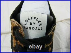 NWOB Loeffler Randall Leopard Print Sneaker Size 8.5