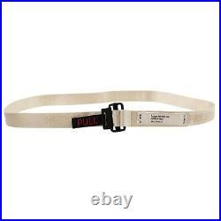 NWT HERON PRESTON Ivory Pull Tab Belt Size OS $160