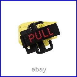 NWT HERON PRESTON Yellow Pull Tab Belt Size OS $160