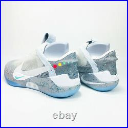 Nike Adapt BB Mag Shoes Men's Wolf Grey AO2582-002 SZ 9 (10.5 Women's) NEW