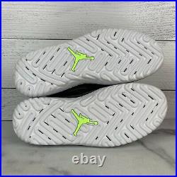 Nike Air Jordan 1 High React Men's Size 9 Shoes Grey Black AR5321-002 No Lid