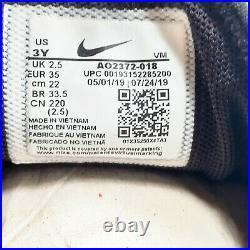 Nike Air Max 270 PS Shoes Preschool Boy's Black / Reflect Silver AO2372-018 NEW