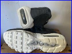 Nike Air Max 95 TT Mens Size 9 M Pull Tab Pack Black Red Sail White AJ1844-002