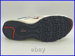 Nike Air Max 97 SE Blue Nebula Pull Tab Obsidian AQ4126-400 Size 8.5