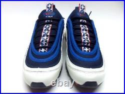 Nike Air Max 97 Se Pull Tab Obsidian/university Red-sail Men's 11 Aq4126-400