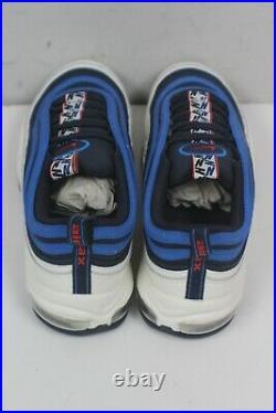Nike Air Max 97 Se Pull Tab Obsidian/university Red-sail Men's 13 Aq4126-400