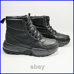 Nike Air Max Goaterra 2.0 Combat Boots Men's Black / Black 916816-001 SZ 9 NEW