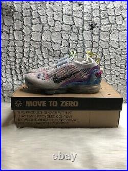 Nike Air Vapormax 2020 Flyknit Multi-color Women's Size 7 New CJ6741-001