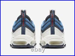 Nike MEN'S Air Max 97 TT PULL TAB Obsidian/University Red/Sail SIZE 12 NEW
