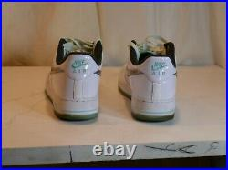 Nike Mens Air Force 1'07 LV8 White Iridescent Tropical Twist DD9613-100 Sz 11.5
