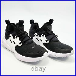 Nike RT Presto (PS) Sneaker Shoes Preschool Boy's Black / White BQ4003-001 NEW