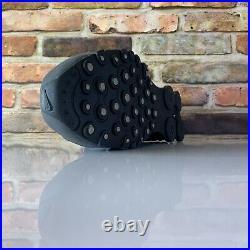Nike Shox NZ Dark Grey Metallic Iron Mens Size 8 378341-059