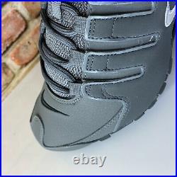 Nike Shox NZ Dark Grey Metallic Iron Mens Size 8.5 378341-059