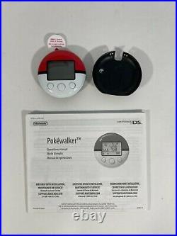 Nintendo Ds Pokewalker English New Unused Pulltab Clip Manual Heartgold