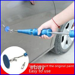 Paintless Car Dent Repair Tool Hail Removal Hammer + Rubber Pull Tabs Universal