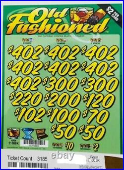 Pull Tab $2 Ticket OLD FASHIONED -$1566.00 HUGE $$ PROFIT FREE Shipping