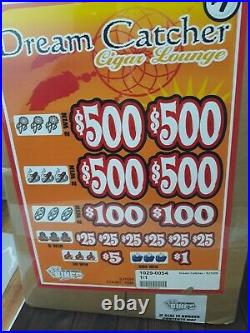 Pull Tabs DREAM CATCHER Tickets $1.00 Ticket $1020 PROFIT FREE SHIPPING