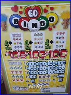 Pull Tabs GO BINGO Tickets $1.00 Ticket $1040 PROFIT FREE SHIPPING
