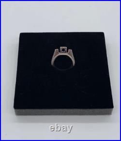 Raf simons soda can pull tab ring silver sterling Aluminum size 20