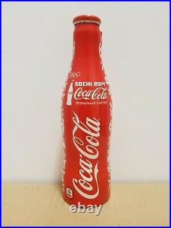 Rare Coke Bottle Coca-cola Pull Tab Sochi 2014 (russia) 2013